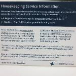 Housekeeping policy