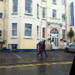 view of the hotel at 11am sunday 23rd sept 2012