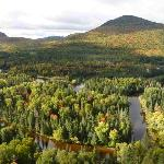 View of Parc du Mont-Tremblant during the 3 hr tour