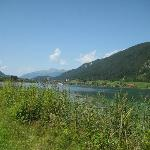 View on the Weissensee