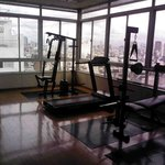 Fitness room - workout equipment