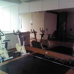 Fitness room - old exercise bikes