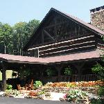 The main Lodge at SRL