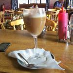How not to serve an Irish Coffee