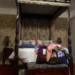 Our four poster bed