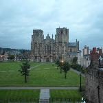  Wells Cathedral from our room