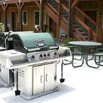Become the grillmaster at one of our many gas barbeque grills on the property