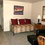 525 square feet of spacious living quarters with complete kitchens and washer/dryer in each