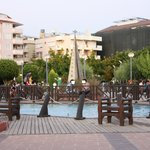  A park near to hotel at the beach