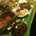 Brazilian buffet that was served