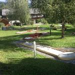 hotel Dolomiten, mini golf
