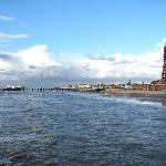 Blackpool from the Central Pier.