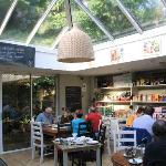 Stylish breakfast room/cafe conservatory