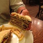 the mega burger! supersize me anyone?