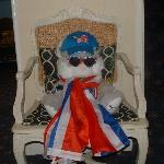  White Lodge Olympic mascot