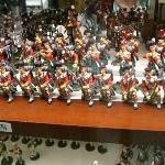  Part of miniature soldier collection