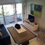  Lounge area with nice sized LCD tv
