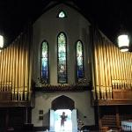"Tiffany's ""Second Coming of Christ"" and Organ"