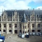  view of palais de justice from our window