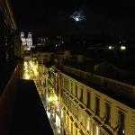  View of the spanish steps from our room...