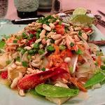 lobster pad Thai