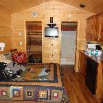 Inside of cabin