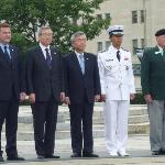 Korean Delegation at War Memorial