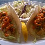                    Fish tacos at the pirates pub n grub