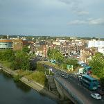 View of River Medway from Room 510