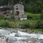 dalla finestra dell'hotel Cristallo