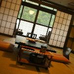 Japanse room with tatami