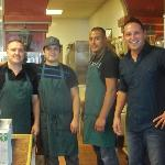 Owner/manager Carlos, and his friendly team of compadres!