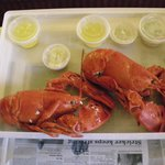 SECOND DAY OF LOBSTER AT GILMORES