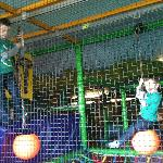  Both the nine and four year old loved the soft play area