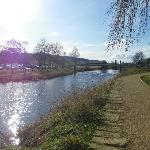 Lovely River Coquet, stroll along the banks