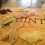 great cheese selection with quintessa