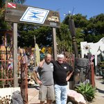 Bill Bookout with Ralph Miller--Pismo Beach Surf Shop from 1962 to present
