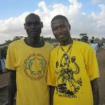 Octopizzo and friend who looked after us during the walking tour.l