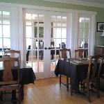 two dining rooms