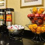Our Complimentary Breakfast Offers Fruit and More