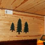  Beautiful Pine walls.