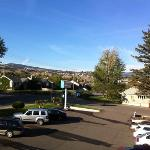  Scott&#39;s Inn Kamloops, Blick von der Veranda