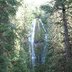 Lower falls, 100 feet of water, hike there and get wet!