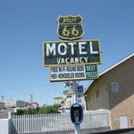 Route 66 Motel Barstow Signage