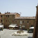  Beautiful piazza in Panicale