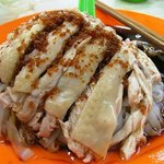 Chicken slice hor fun