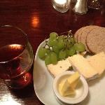 Scottish Cheese Selection and Port
