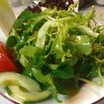  Kleiner gemischter Salat (Euro 2,60) am 29.09.2012