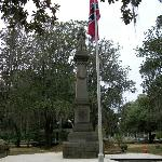  Confederate Memorial in Live Oak Cemetery