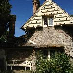 Blaise Hamlet-note dovecote in attic